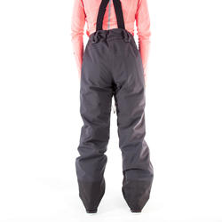 500 WOMEN'S FREERIDE SKIING PANTS - GREY
