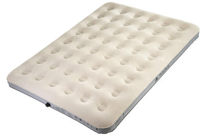 AIR BASIC INFLATABLE CAMPING MATTRESS _PIPE_ 2 PEOPLE - WIDTH 140 CM
