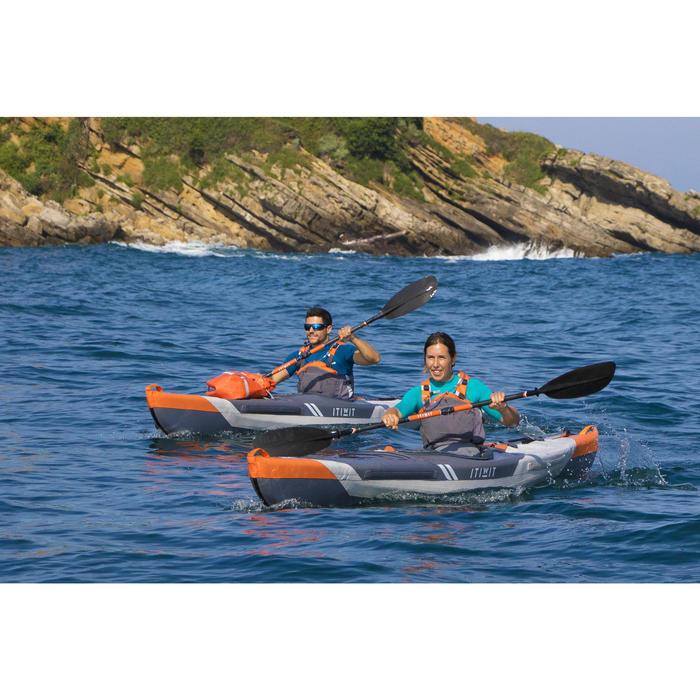 Kayak Hinchable Itiwit Drop Stitch de alta presión Strenfit X500 1 plaza