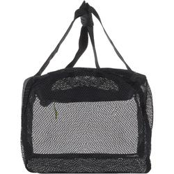 Duiktas mesh/netstof 50 l zwart