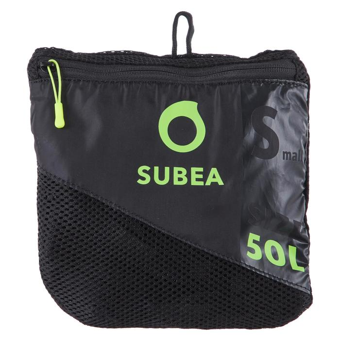Bolsa Buceo Subea Red/Mesh 50 L Negra