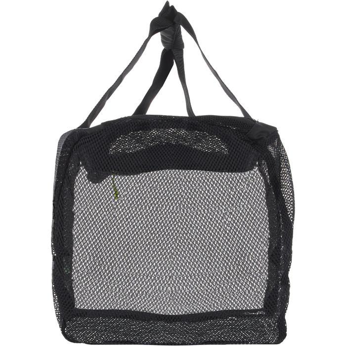 Duiktas netstof/mesh 70 l zwart