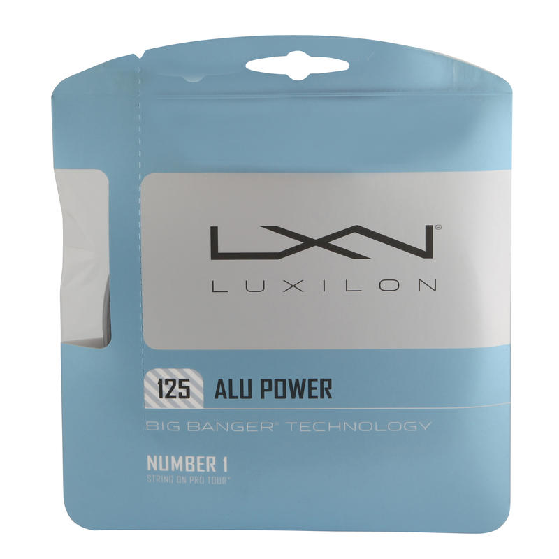 Alu Power Tennis Strings - Grey