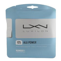 Tennissaite Alu Power 1,25 mm 12 m grau