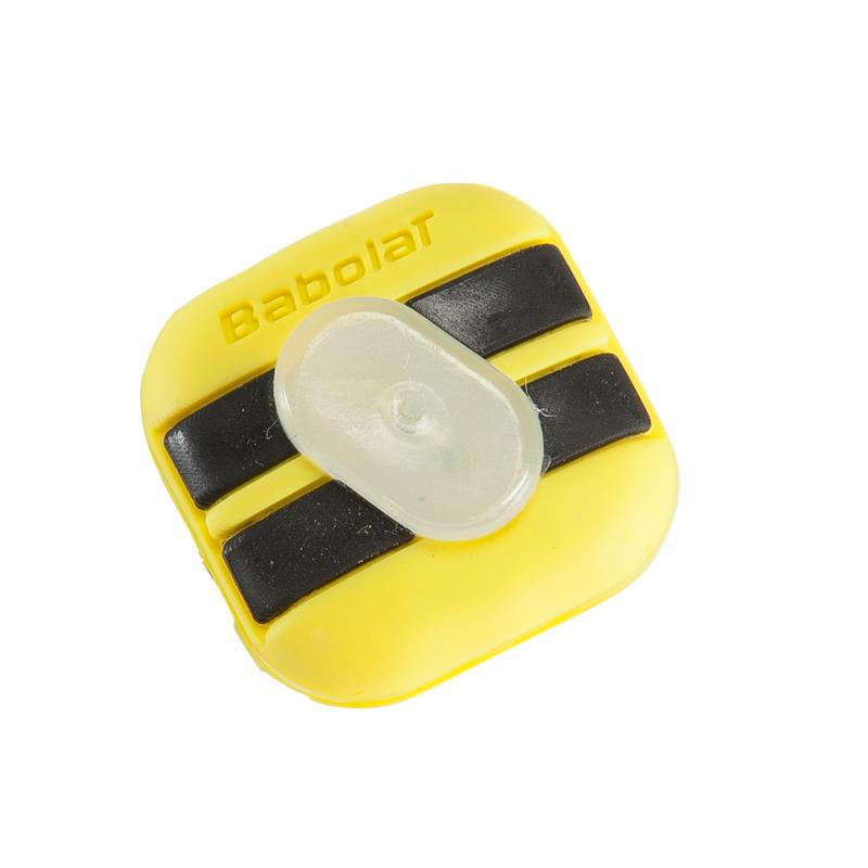 Custom Damp Aero Tennis Dampener - Black/Yellow