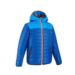 MH500 兒童登山健行保暖外套 - 藍色