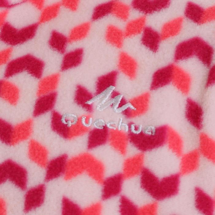 兒童款健行刷毛立領上衣MH120-粉紅色