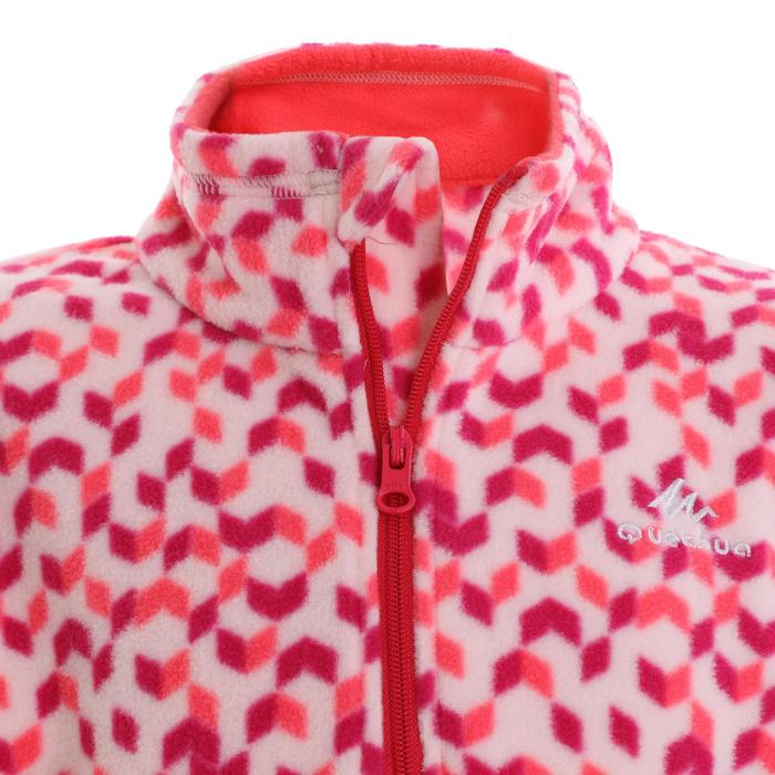 MH120 Kids' Hiking Fleece - Pink