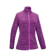 MH120 Women's Mountain Hiking Fleece Jacket - Purple