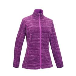 MH120 Women's Mountain Hiking Fleece Jacket - Purple