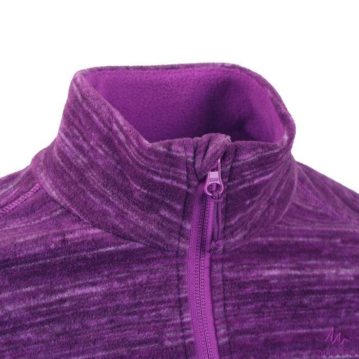 Women's Mountain Walking Fleece Jacket MH120 - Purple