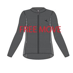 Free Move Women's Gentle Gym & Pilates Jacket - Grey