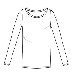 T-shirt met lange mouwen voor pilates en lichte gym dames 100 wit