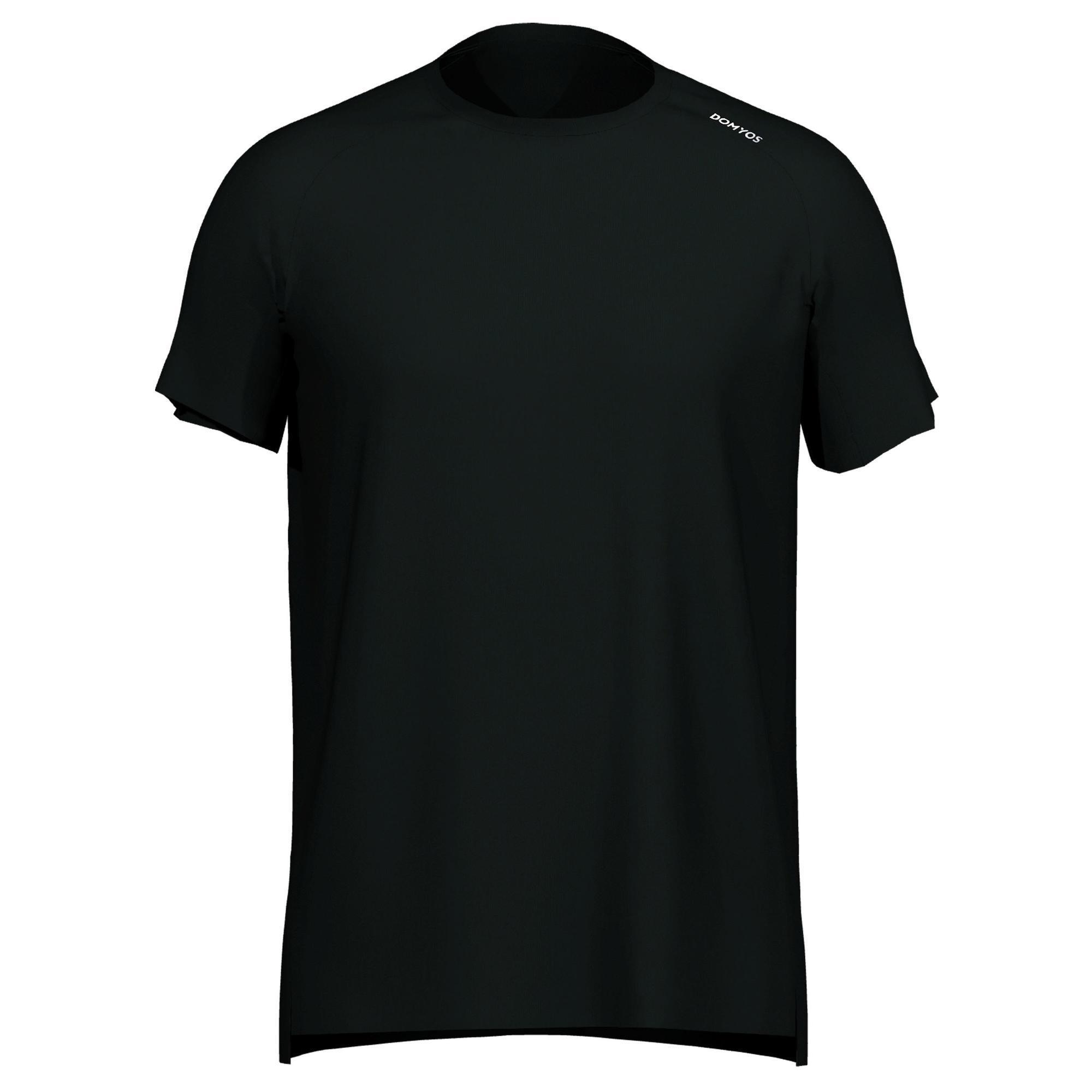 Domyos Fitness shirt 120 voor heren, zwrat