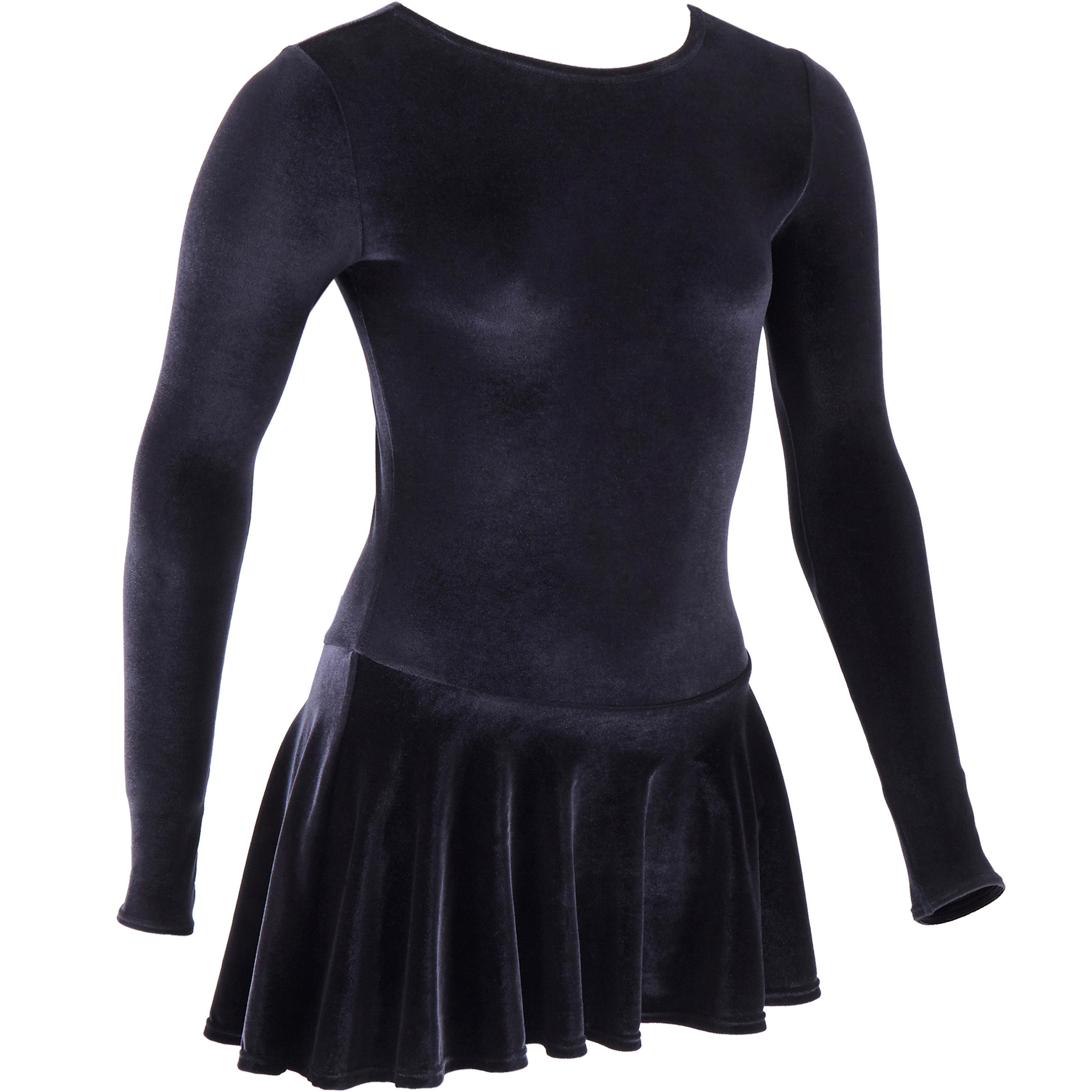 Junior Figure Skating Training Tunic - Black