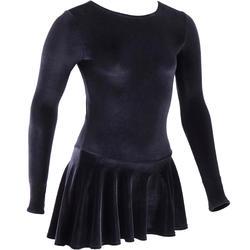 Junior Figure Skating Training Tunic - Black