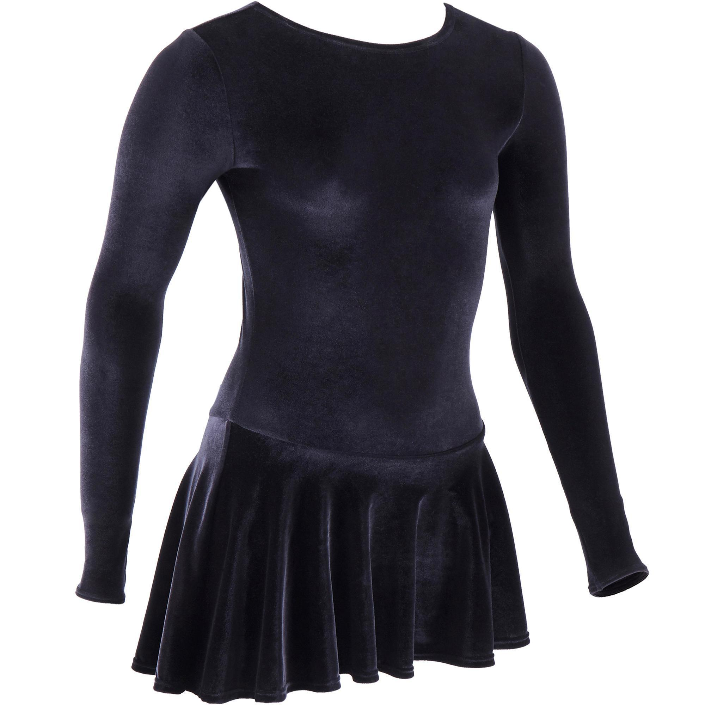 Kinder Tunika Trainingskleid Eiskunstlauf Kinder schwarz | 03583788058410