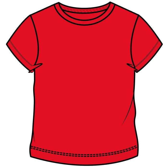T-Shirt manches courtes 100 garçon GYM ENFANT rouge