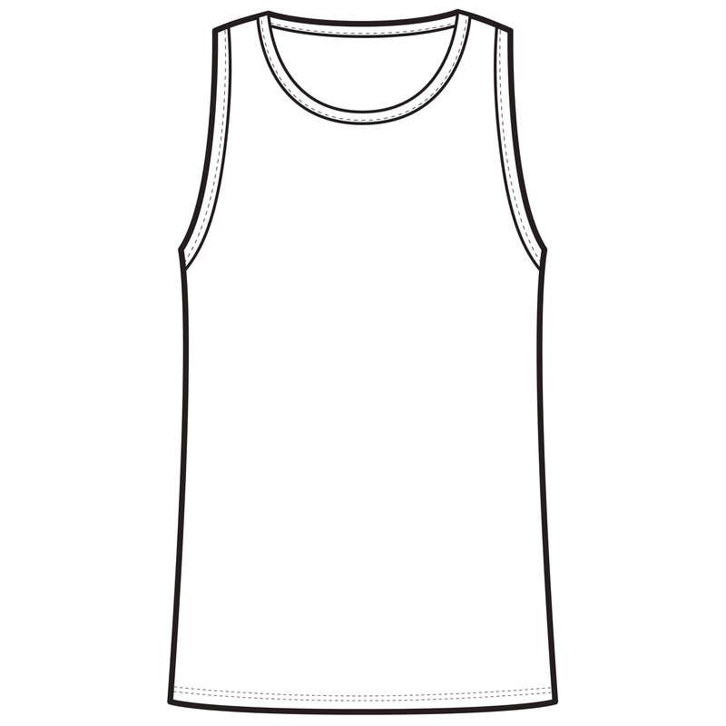 CHLAPECKÉ OBLEČENÍ NA CVIČENÍ Cvičení pro děti - TÍLKO 100 BÍLÉ DOMYOS - Dětské oblečení na cvičení