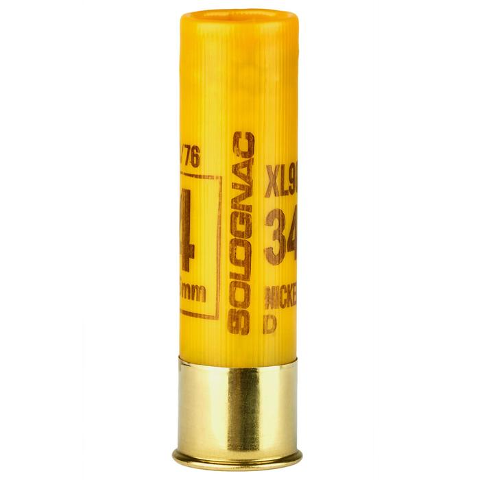 Patronen XL900 34 g vernickelt Kaliber 20/76 Blei Nr.4 X10