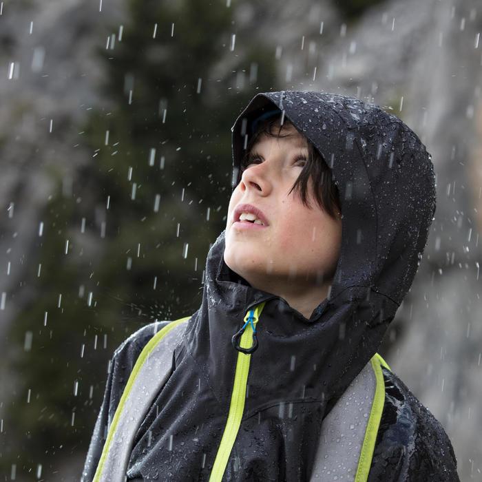Veste de randonnée enfant Hike 900 noire