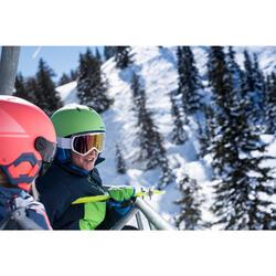 Ski-jas voor meisjes SKI-P JKT 500 blauw