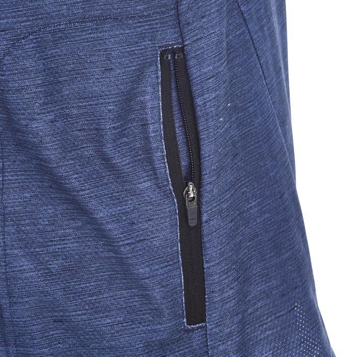MTB-shirt met korte mouwen heren ST 100 marineblauw