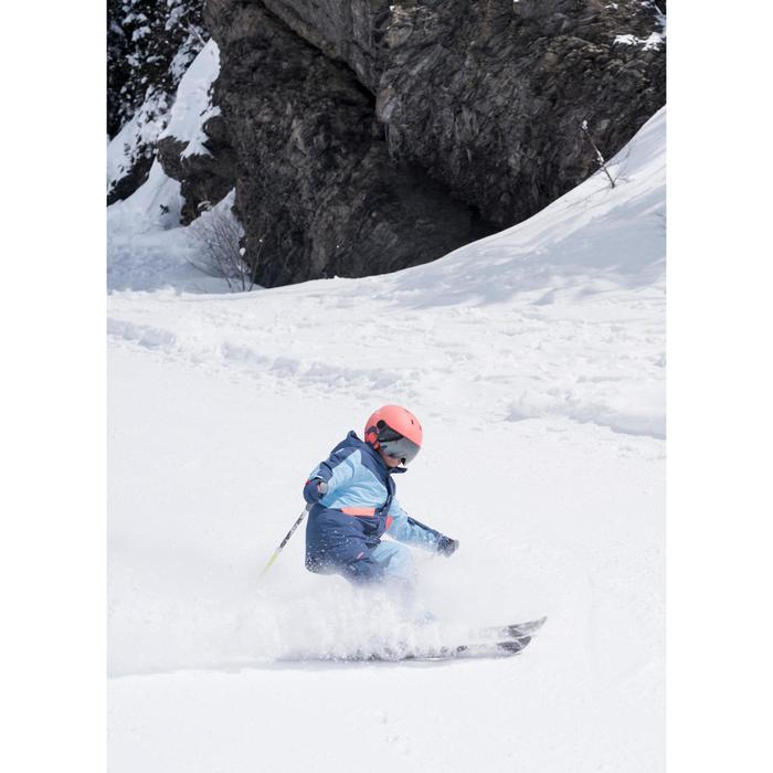 KID'S SKI SUIT PNF 500 - SKY AND CORAL