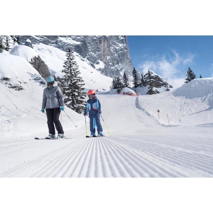 Skibroek dames voor pisteskiën zwart 180