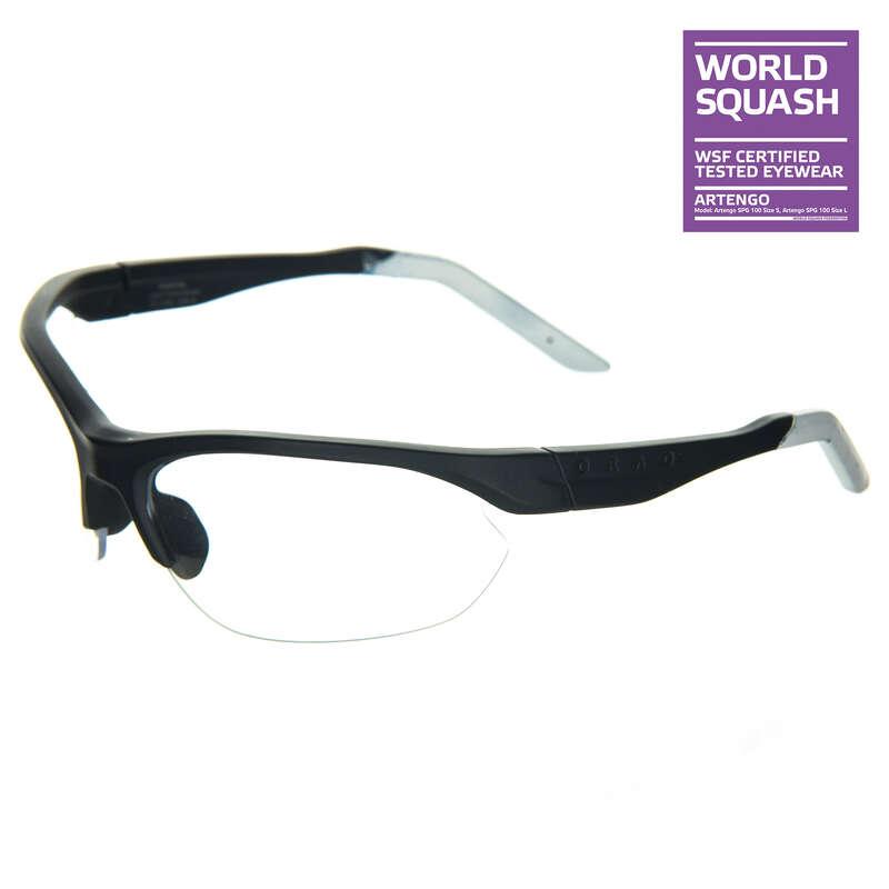 SQUASH Sport di racchetta - Occhiali squash SPG 100 L OPFEEL - Attrezzatura squash