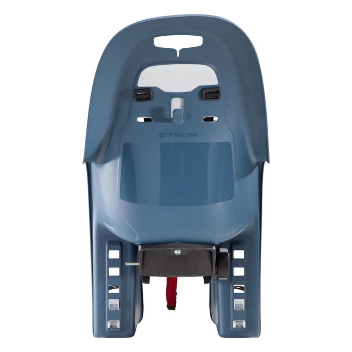 Fahrrad-Kindersitz 100 Gepäckträgermontage blau