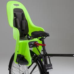 Fahrrad-Kindersitz 100 Rahmenmontage neongelb