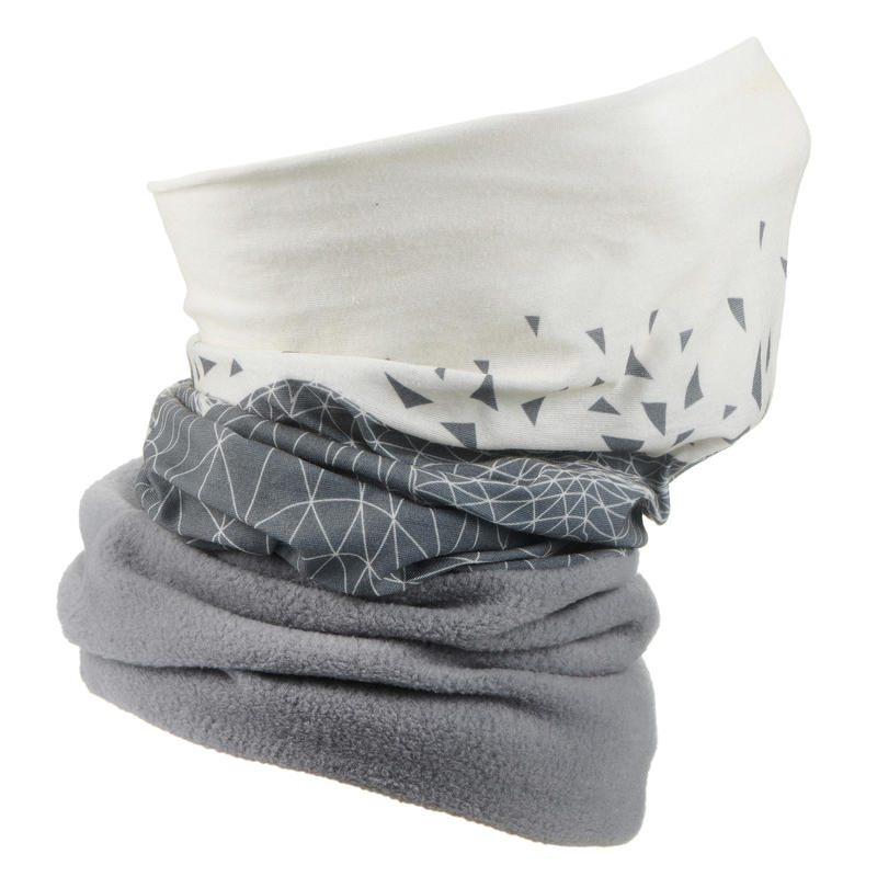 Adult Ski Neck-Warmer Hug - Grey