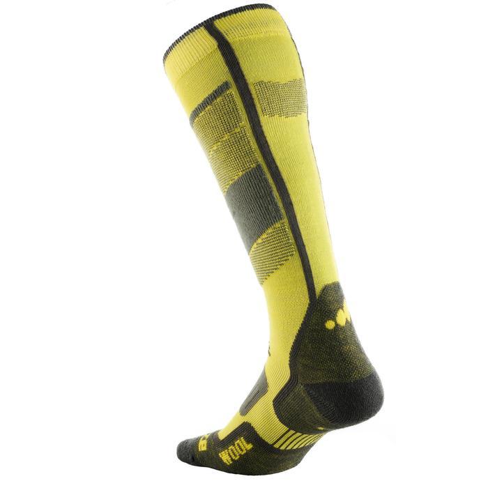 Skisocken 300 Erwachsene gelb
