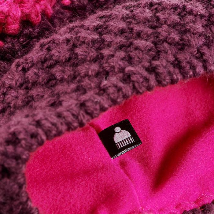 Skimütze Timeless violett/rosa