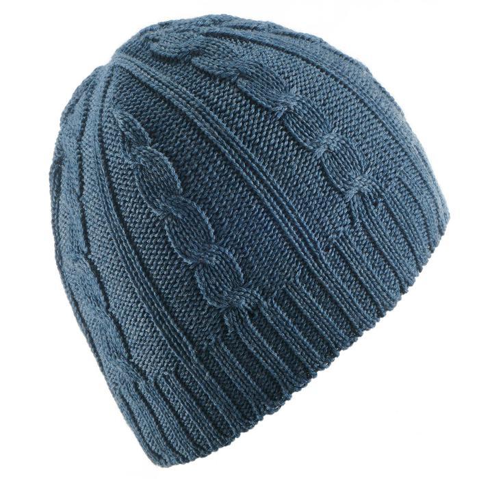 Skimütze Zöpfe Erwachsene marineblau