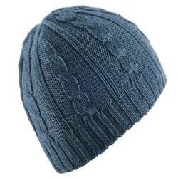 Skimuts volwassenen kabelbrei marineblauw