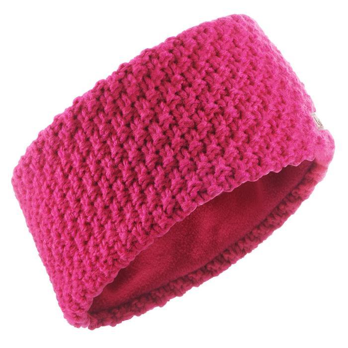 Ski hoofdband voor volwassenen Timeless roze