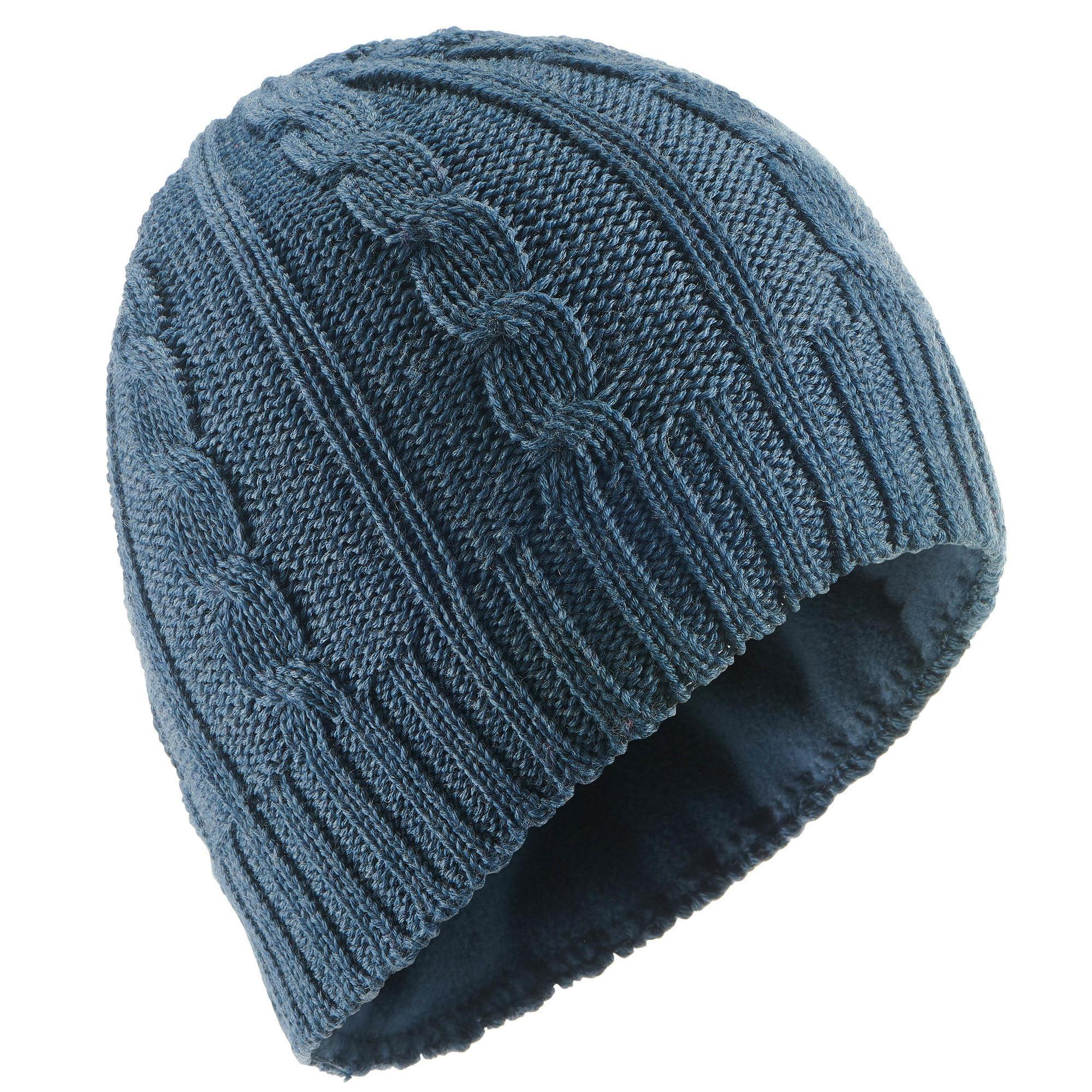87c22a2660c Adult Cable Knit Ski Hat - Navy