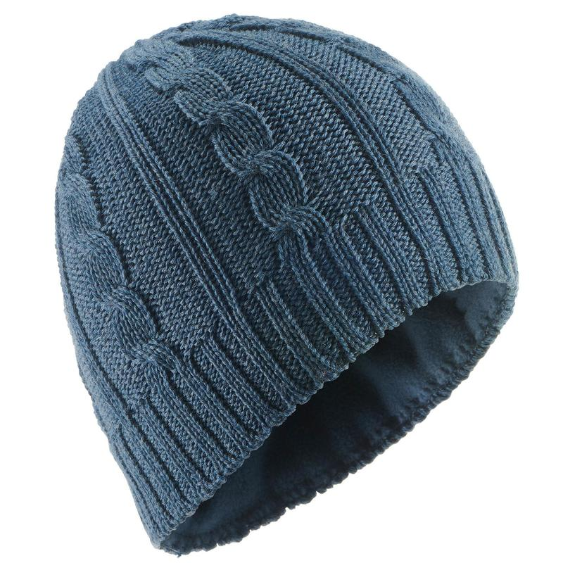 767b7166be8 Adult Cable Knit Ski Hat - Navy