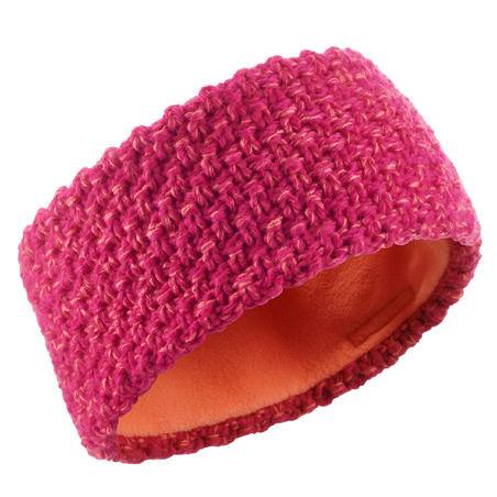 CHILDREN'S TIMELESS SKIING HEADBAND - PINK CORAL