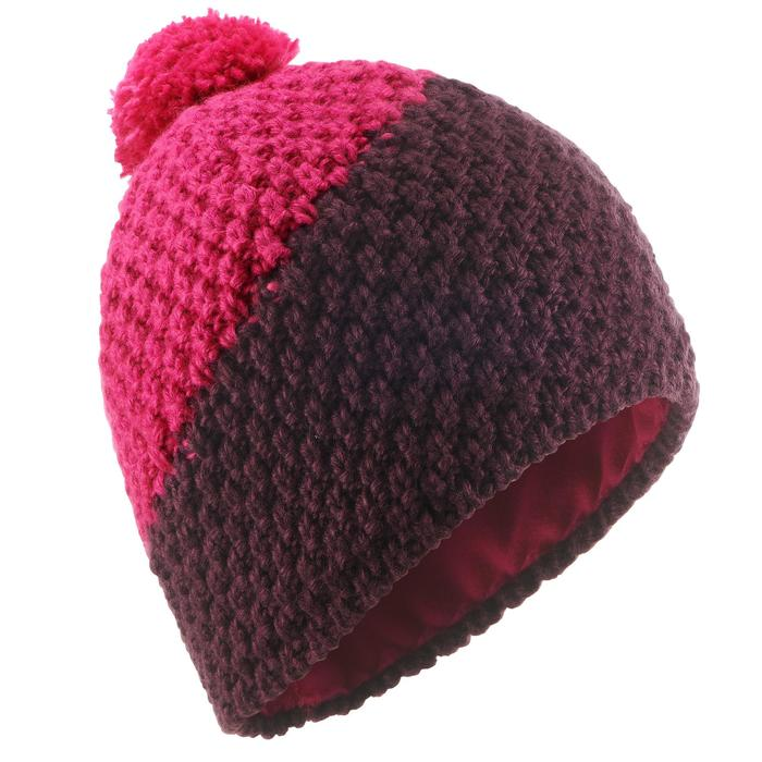 BONNET DE SKI ADULTE TIMELESS VIOLET ROSE