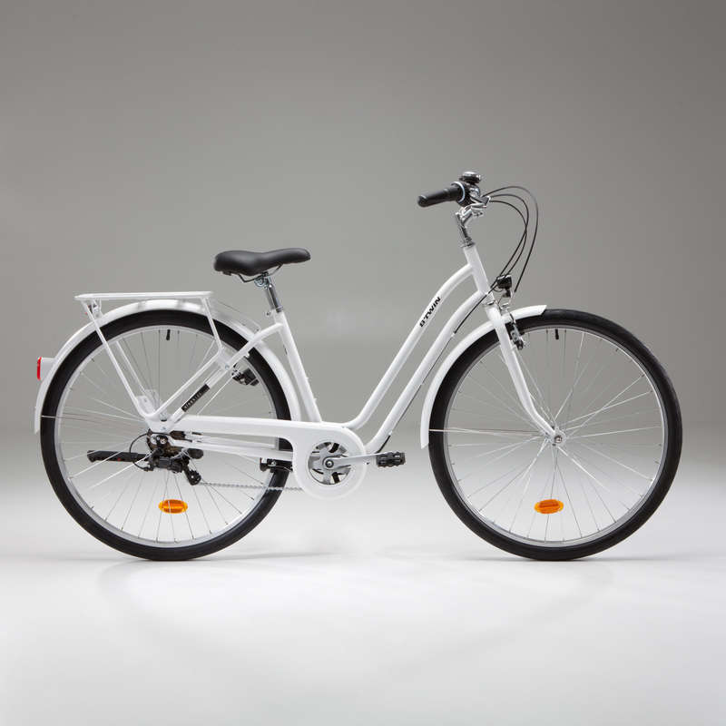 URBAN TRADITIONAL BIKES Cycling - Elops 120 Low Frame Town Bike B'TWIN - Bikes