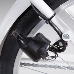 """City Bike 28"""" Elops 120 LF tiefer Einstieg weiß"""