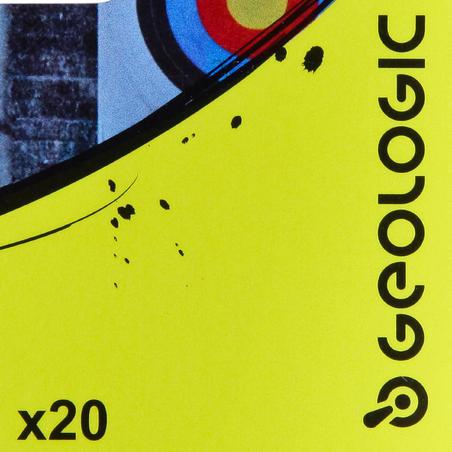 """20 x  2"""" FLETCHINGS PLASTIC"""