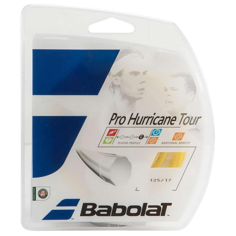 NACIĄGI TENISOWE Tenis - Naciąg Pro Hurricane Tour BABOLAT - Sprzęt do tenisa