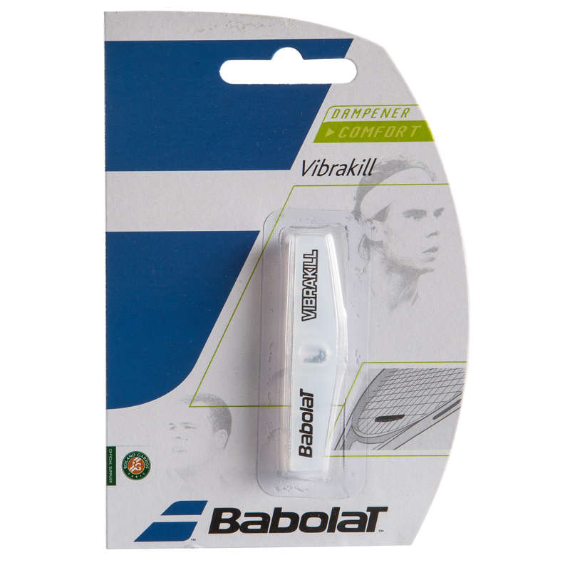 RACKETS ACCESSORIES Tennis - Vibrakill Dampener White BABOLAT - Tennis Accessories