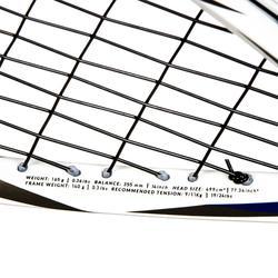 Squashschläger-Set SR 560 (2 Schläger, Ball mit rotem Punkt und Schlägerhülle)