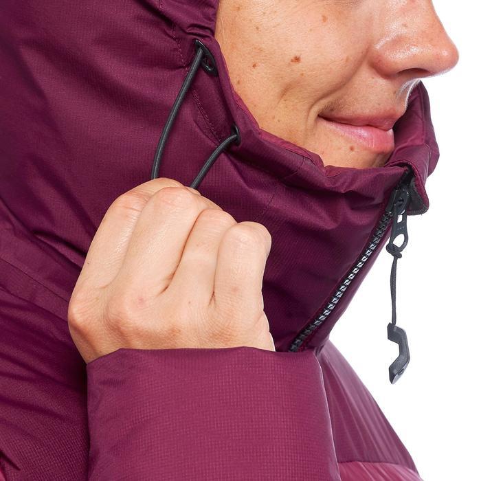 Doudoune trekking montagne TREK900 WARM femme violette