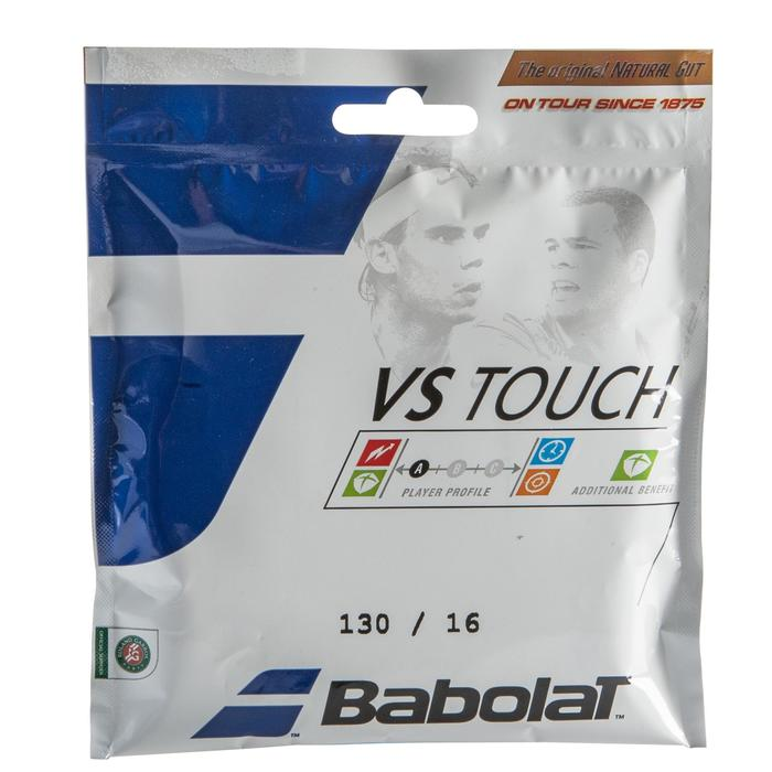 CORDAGE DE TENNIS BOYAU VS TOUCH 1.30MM NATUREL